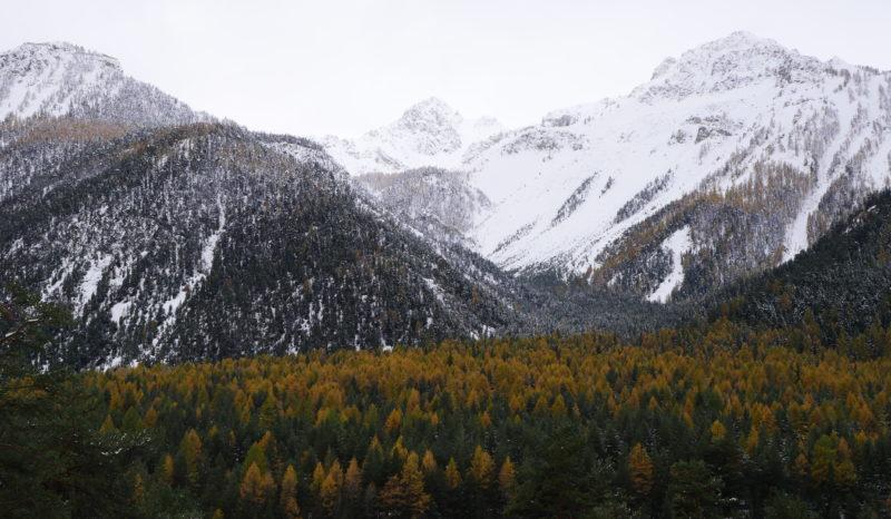 Les Alpes près de Montgenèvre. Photo : Raphaël Botiveau