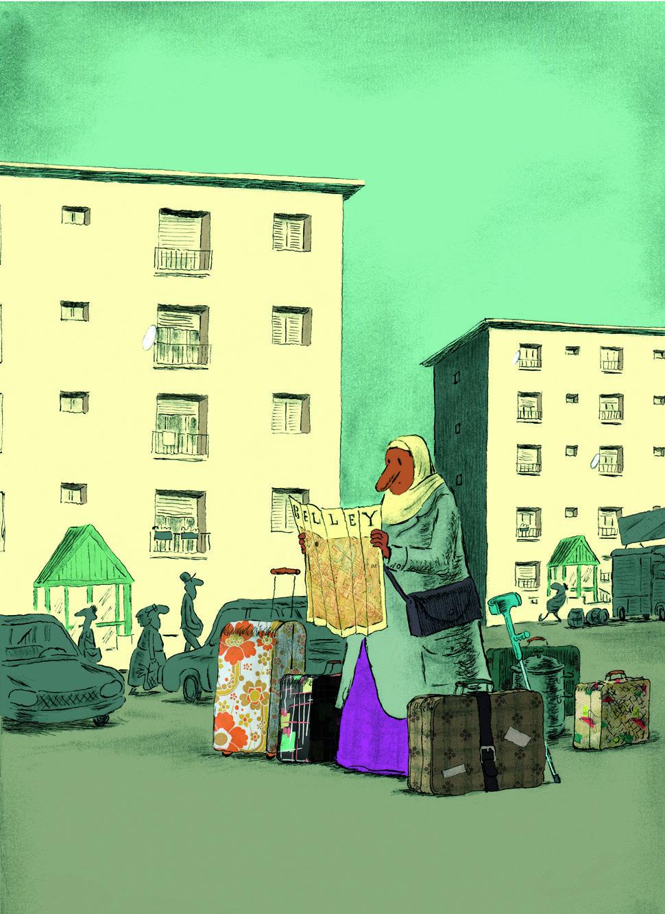 """""""J'ai regardé mes valises. Au moins, elles sont prêtes. Seule la direction change. Et nous voilà à Belley."""""""